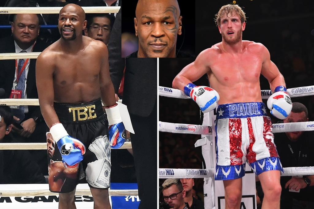 Mike Tyson gave a disappointing forecast for Logan Paul for the fight with Mayweather