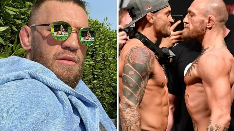 Conor McGregor trolls UFC 264 opponent Dustin Poirier with cheerful selfie