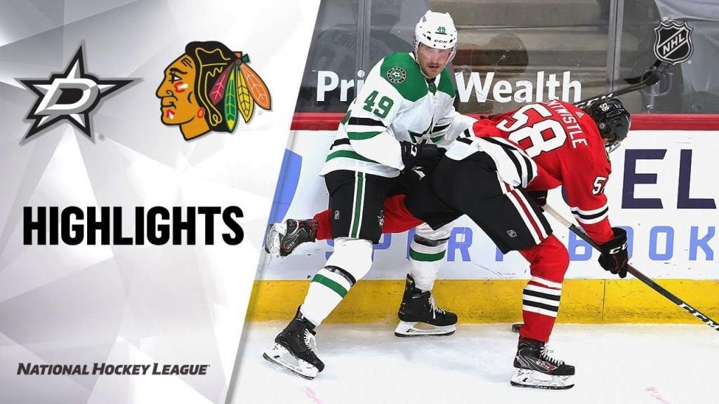 Stars vs. Blackhawks