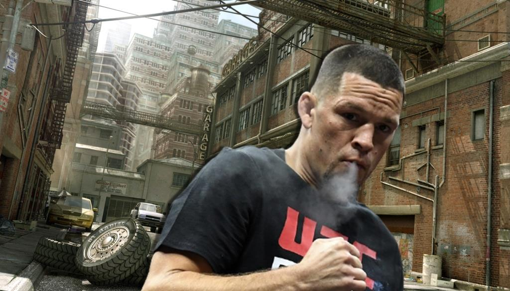 Take a look behind the scenes at Nate Diaz's preparation for UFC 263