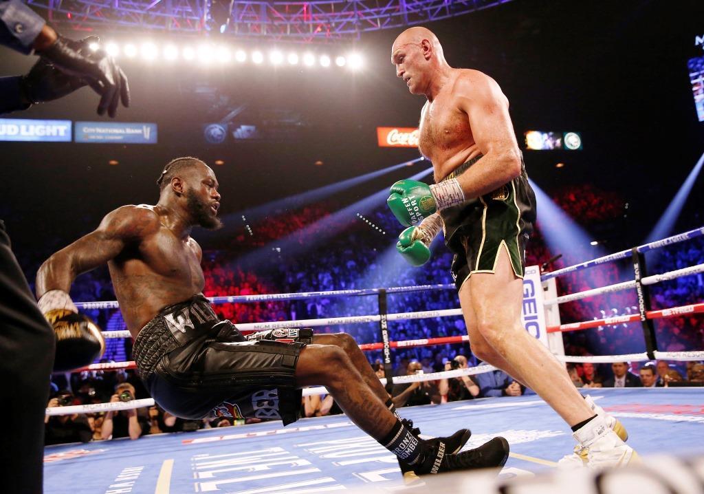 Tyson Fury Says He'll Punish Deontay Wilder