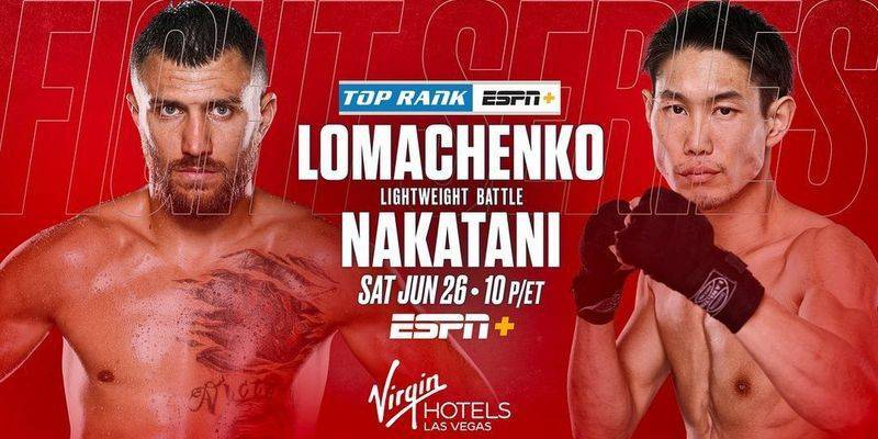 Vasily Lomachenko went to the USA for the final stage of preparation for the battle with Nakatani