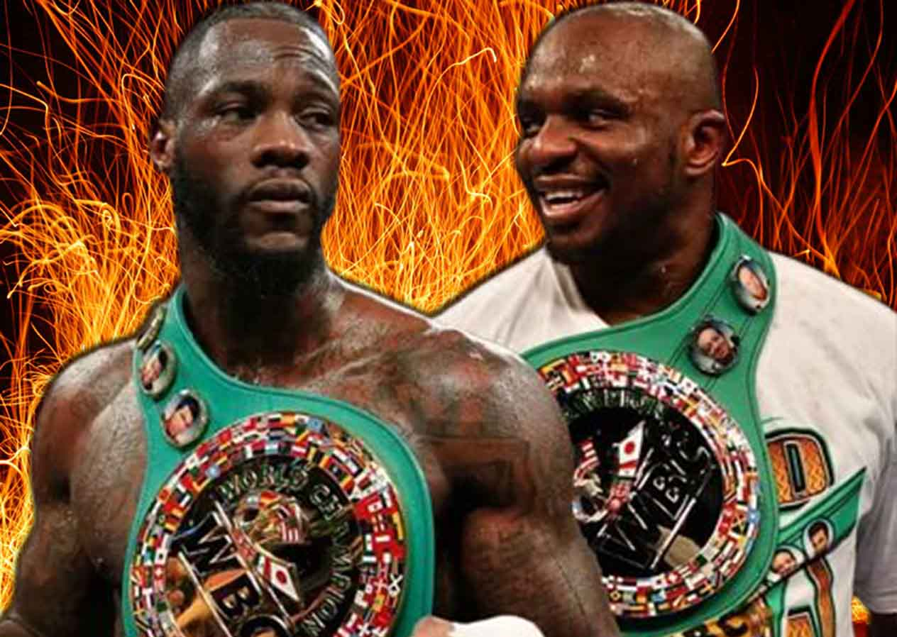 """Dillian White to Deontay Wilder: """"When you see me, don't be a b*tch like you were last time in Las Vegas"""""""