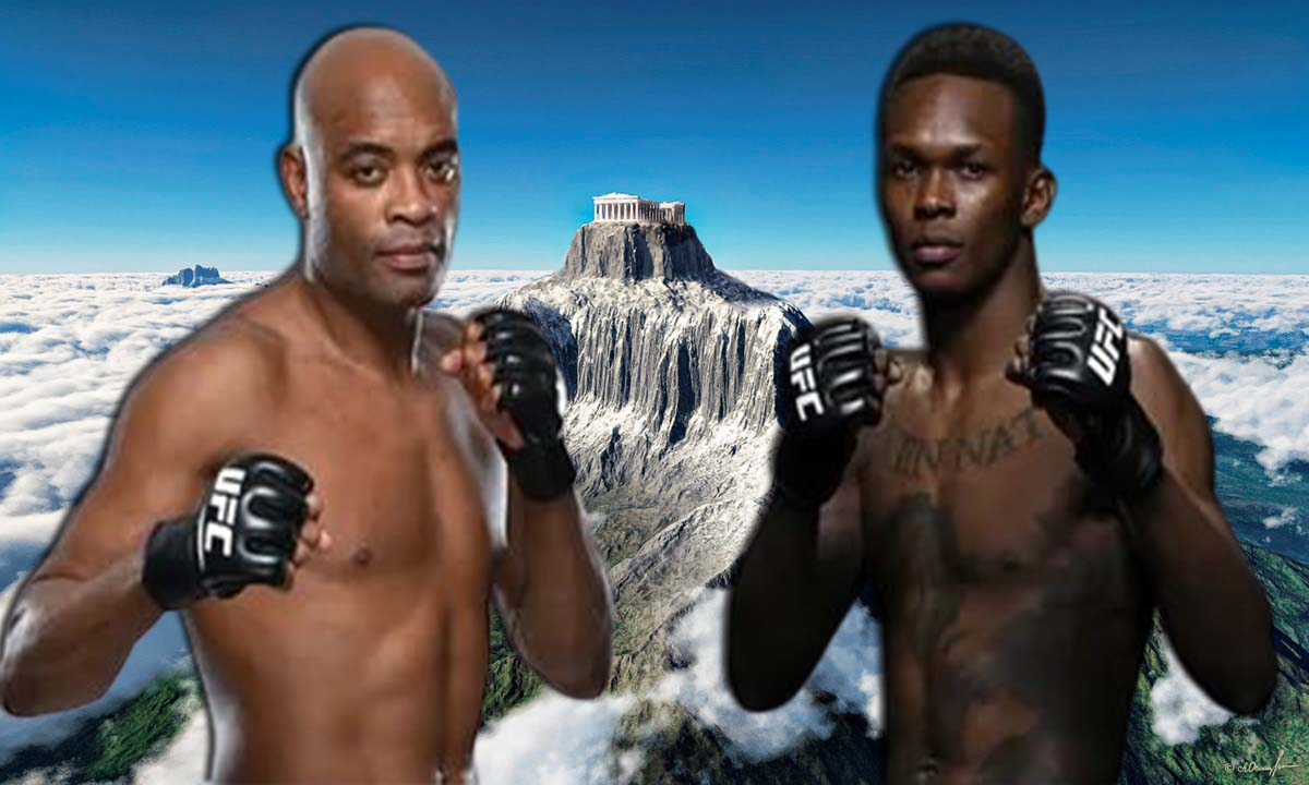 Can Israel Adesanya pass Anderson Silva as best middleweight of all time? Video