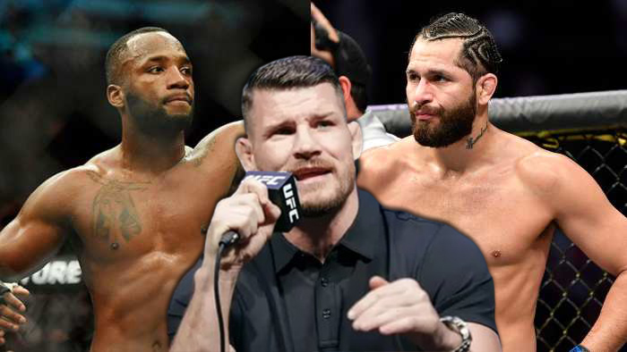 """Michael Bisping tells about Jorge Masvidal vs. Leon Edwards: """"That has to be the fight"""""""