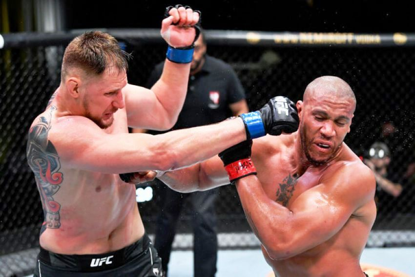 Alexander Volkov commented on the defeat by Ciryl Gane at UFC Fight Night 190