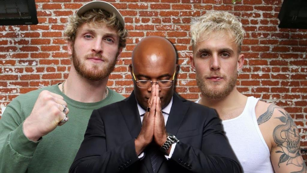 Anderson Silva open to working with Jake Paul and Logan Paul in boxing