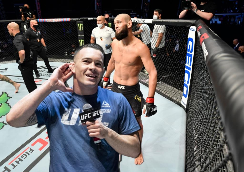 Colby Covington admitted that he had never heard of Khamzat Chimaev