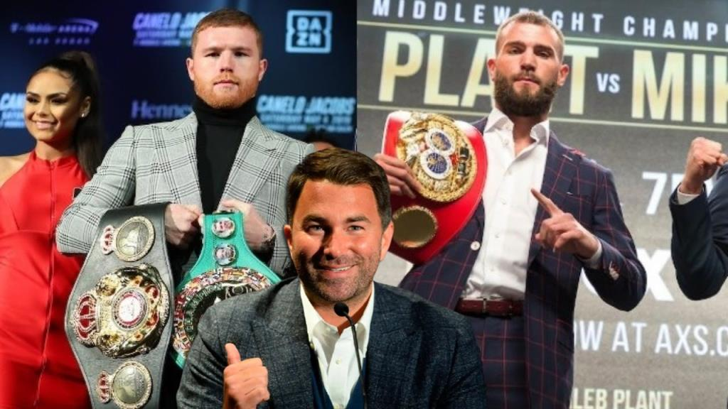 Eddie Hearn announced the beginning of negotiations for the organization of the fight of Saul Alvarez and Caleb Plant