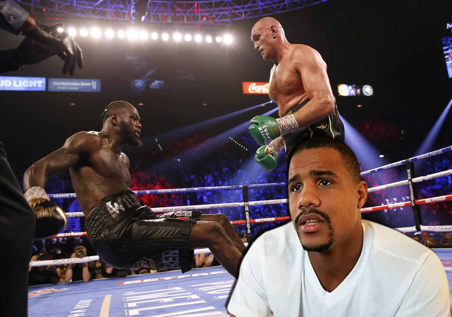 Andre Dirrell admits he told Breeland to stop Deontay Wilder's second fight with Tyson Fury