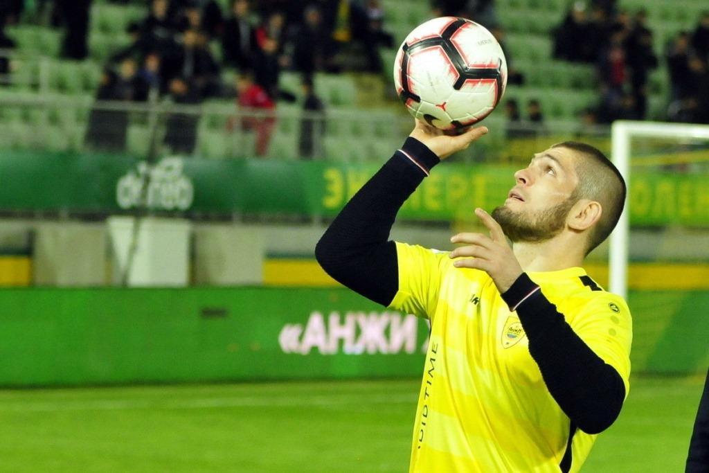 Football club Legion Dynamo offered Khabib Nurmagomedov a contract