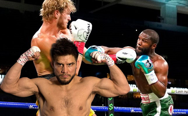 Henry Cejudo criticized Mayweather's performance in a fight with Logan Paul