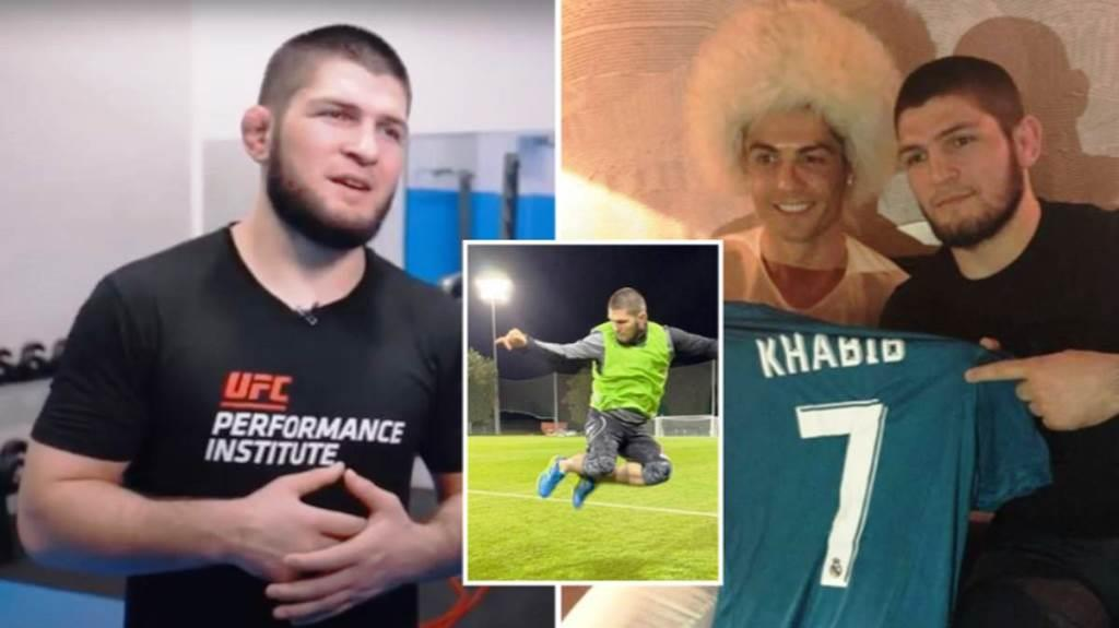 """Khabib Nurmagomedov interested in football: """"This is my first love"""""""