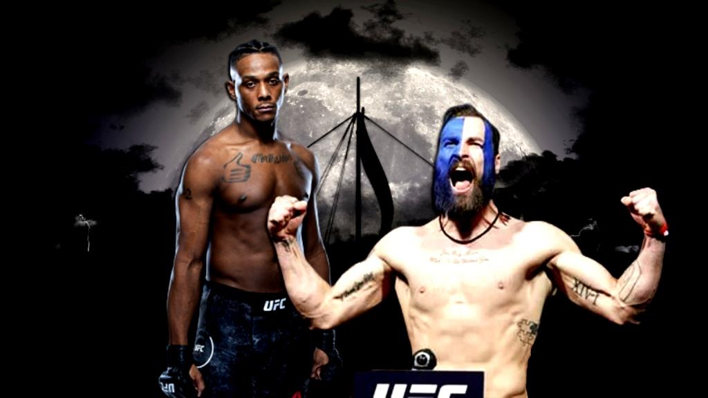 Jamahal Hill and Paul Craig get into a heated showdown ahead of UFC 263