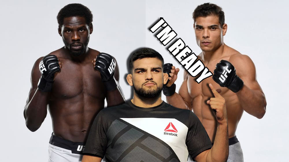 Kelvin Gastelum commented on Paulo Costa's refusal to fight with Jared Cannonier