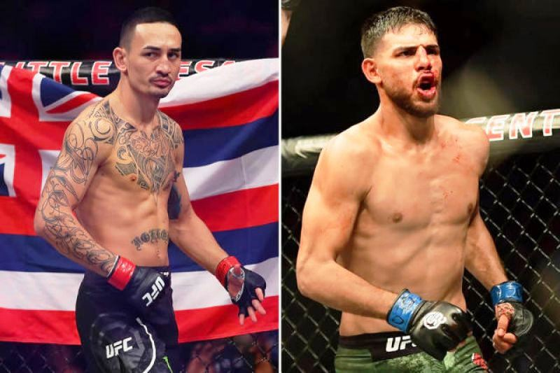 Max Holloway is injured and out of his upcoming UFC Fight Night matchup against Yair Rodriguez.