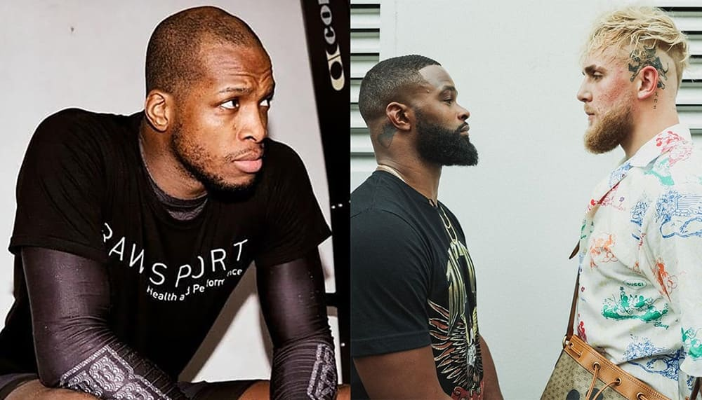 Michael Page gives predictions for the fight between Tyron Woodley and Jake Paul