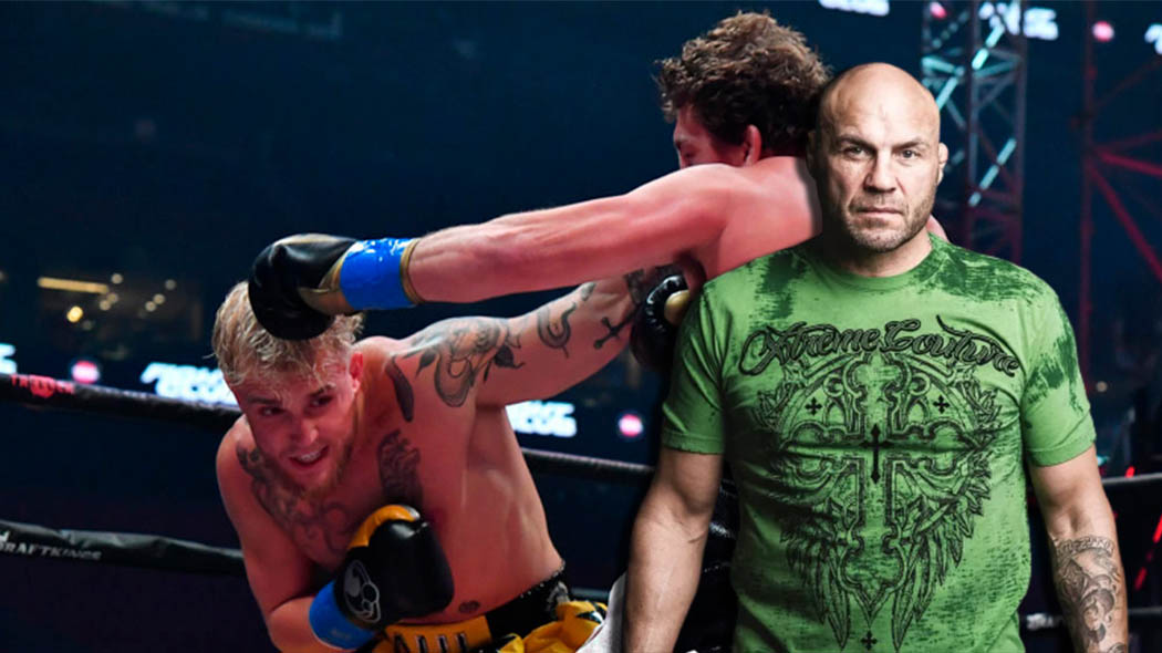 Randy Couture says he is surprised Jake Paul is leading the charge on fighter pay reform in MMA