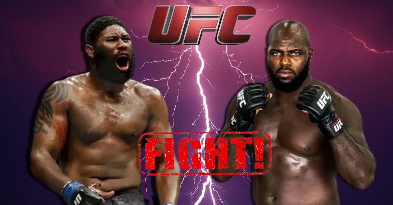 Curtis Blaydes vs. Jairzinho Rozenstruik participate in UFC 266