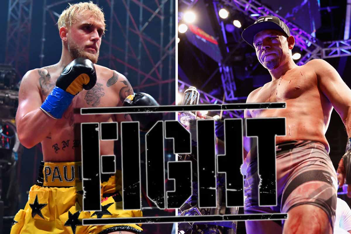 Jake Paul promised to knock out Nate Diaz and congratulated Brandon Moreno on his victory over Deiveson Figueiredo