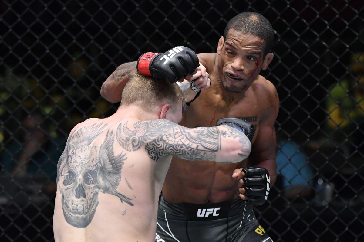 UFC Fight Night 189 medical suspension