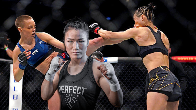Weili Zhang explains her dissatisfaction with the stop of the fight with Rose Namajunas