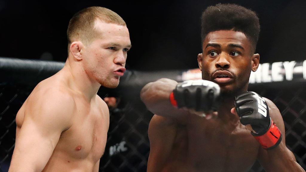 Aljamain Sterling isn't keen on the idea of going overseas to defend his UFC bantamweight title against Petr Yan