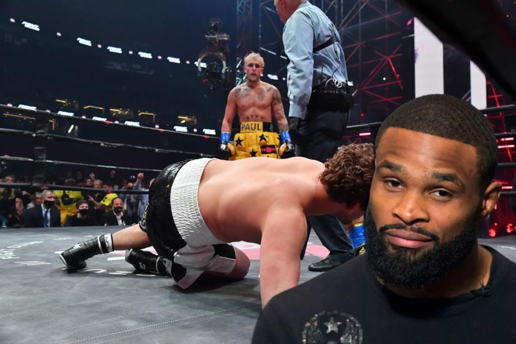 Boxing news Tyron Woodley is confident that he will stop Jake Paul in their boxing fight