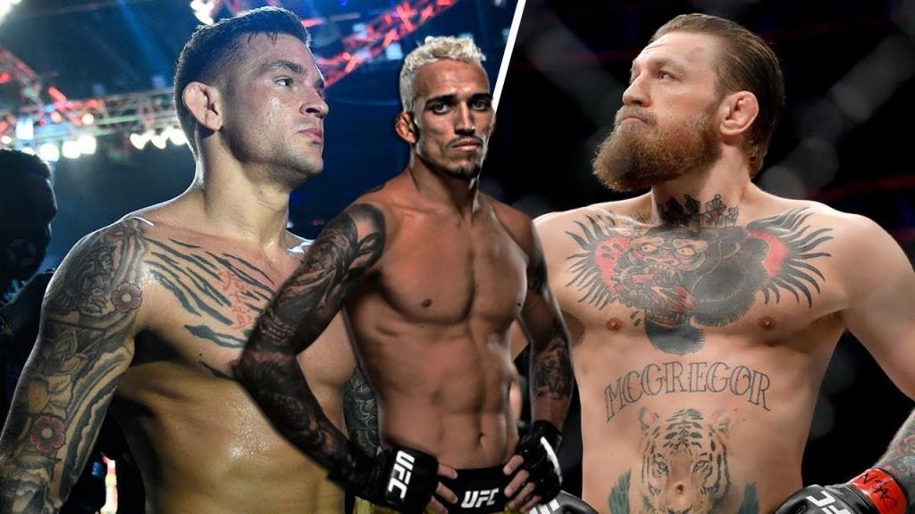 Charles Oliveira thinks he will knock out McGregor and Poirier