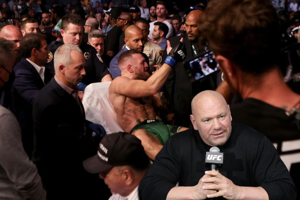 Dana White spoke about the injury of Conor McGregor
