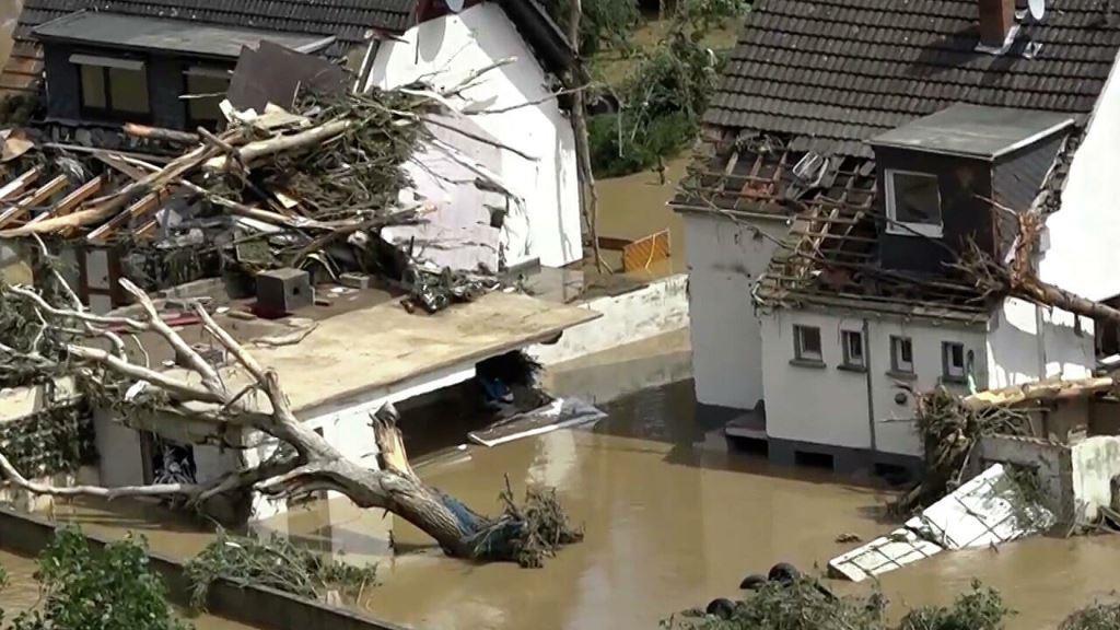 Hundreds injured and more than 1,000 missing in one German district alone, amid severe floods