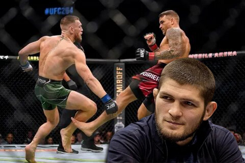 """Khabib Nurmagomedov: """"If Poirier and McGregor hold another 100 fights, then Dustin will beat him 100 times"""""""