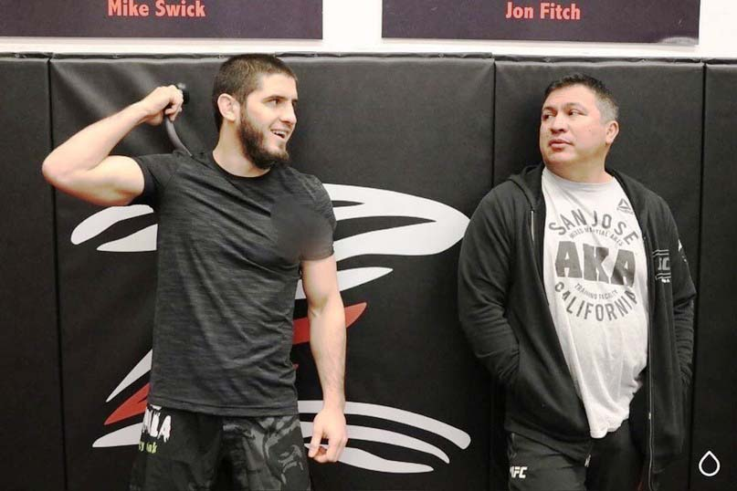 Javier Mendes told who he would like to see as the next opponent of Makhachev