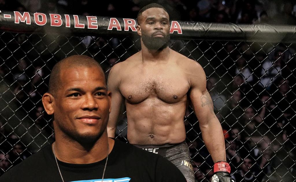 MMA News Hector Lombard finally got face-to-face with Tyron Woodley at BKFC 19.