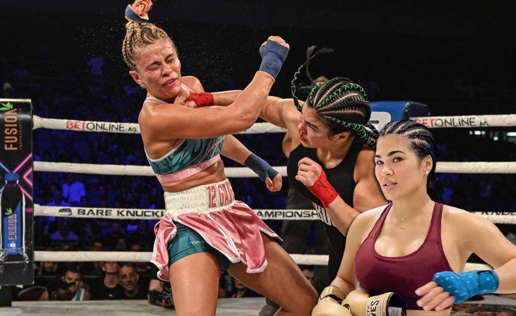 MMA news Rachael Ostovich reacted after beating Paige VanZant at BKFC 19