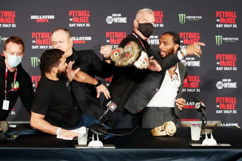 MMA news The president of Bellator commented on the brawl between Patricio Freire and A.J. McKee