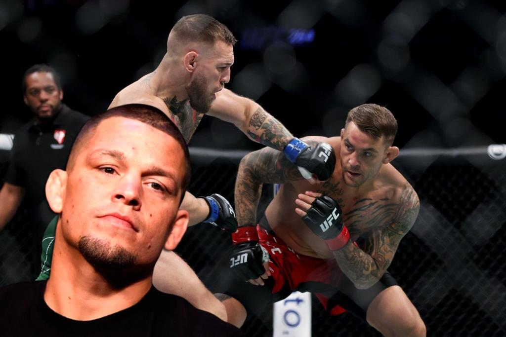 Nate Diaz shared his thoughts after Dustin Poirier defeats Conor McGregor at UFC 264