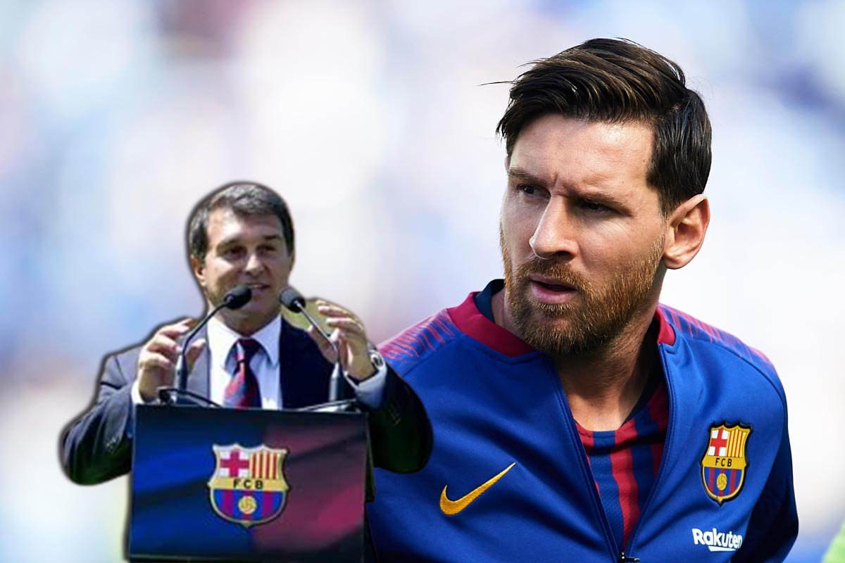 Barcelona President - on Lionel Messi's new contract: Everything is going well