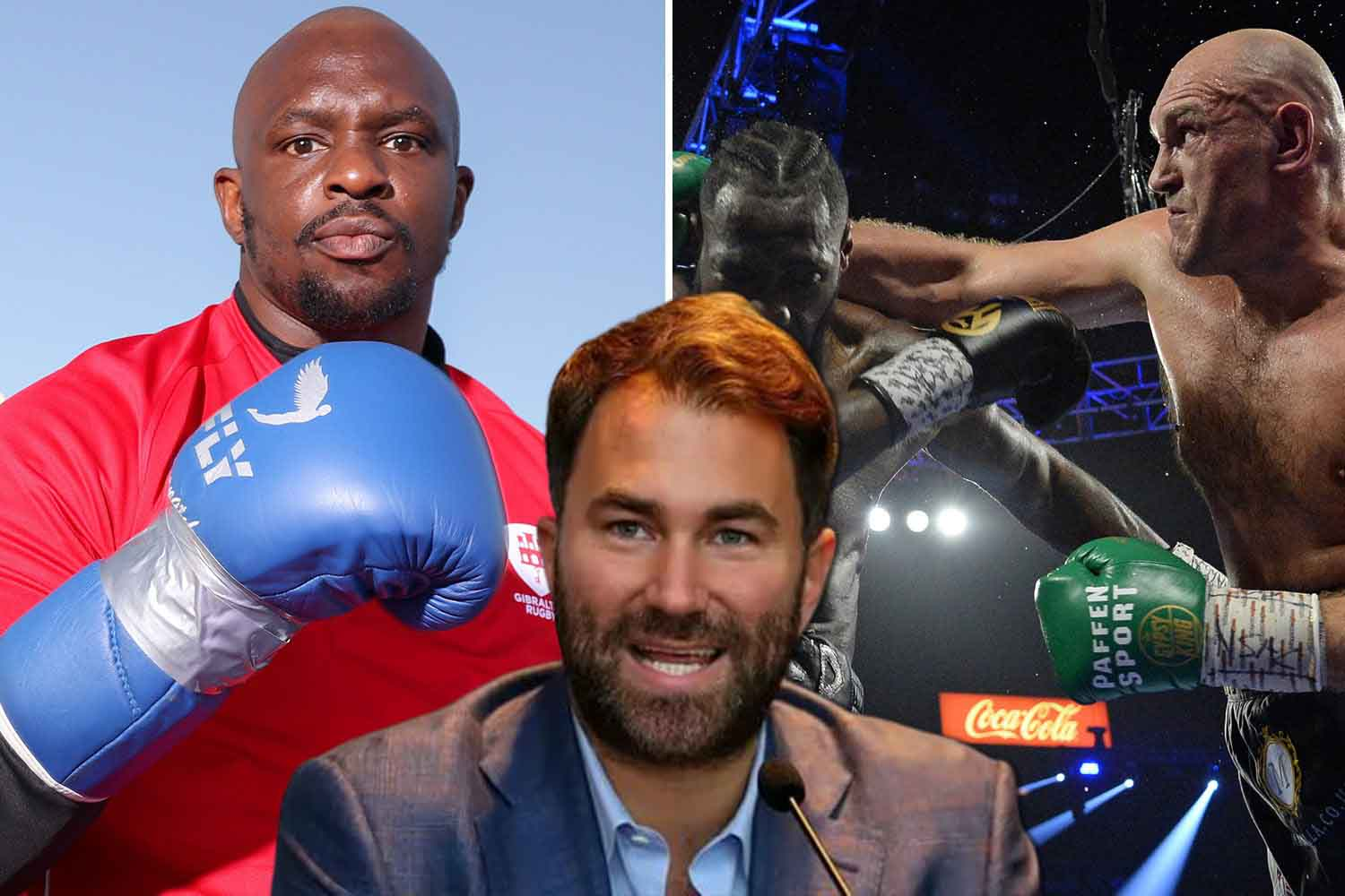 Dillian Whyte is ready to replace Tyson Fury in the fight with Deontay Wilder