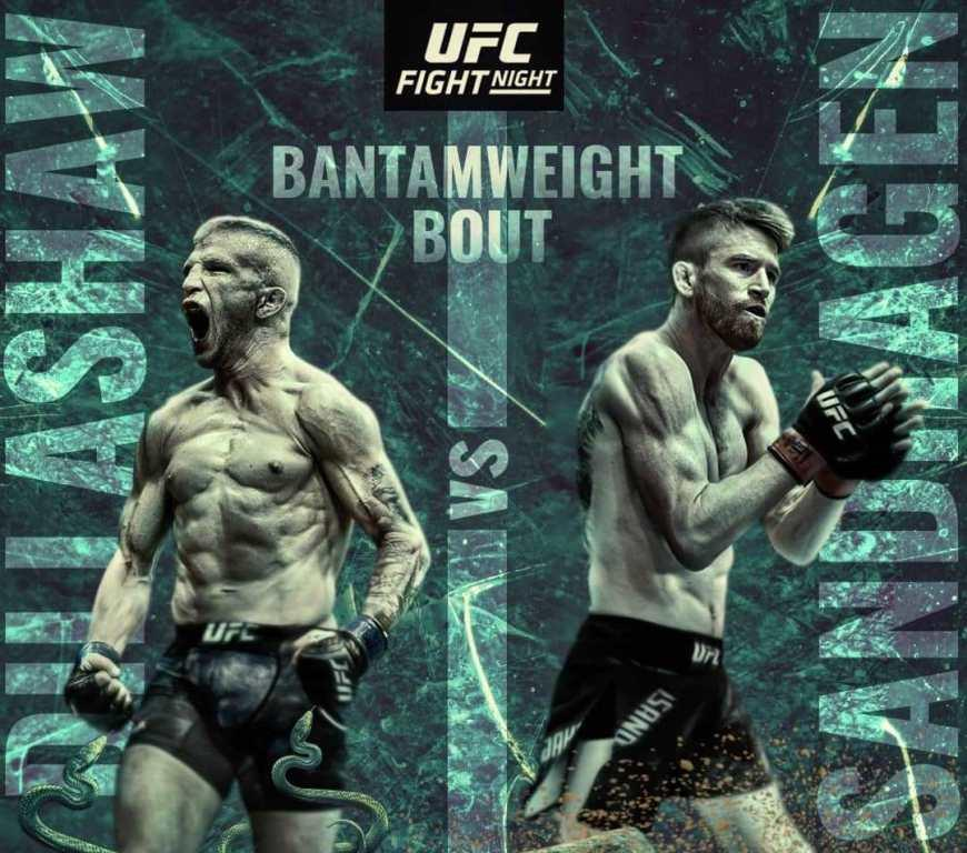 TJ Dillashaw told how joint training with Cory Sandhagen will help him during the fight