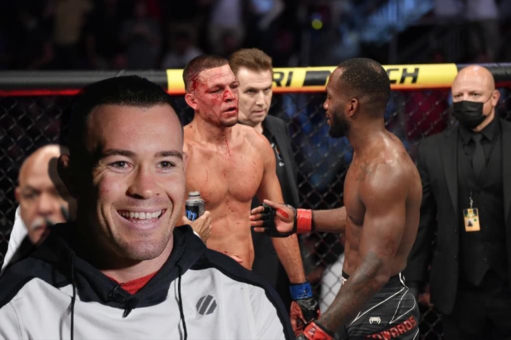 UFC news Colby Covington trashed Leon Edwards after beating Nate Diaz