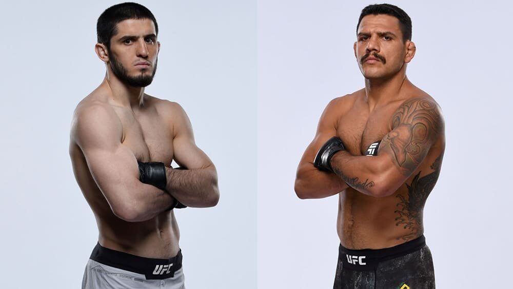 UFC news Islam Makhachev and Rafael Dos Anjos exchanged messages on Twitter again