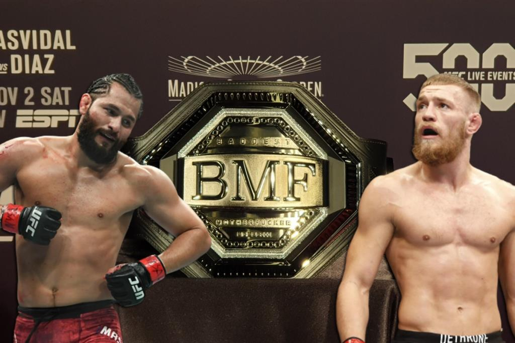 UFC News Jorge Masvidal answered a question about a possible fight with McGregor for the BMF title