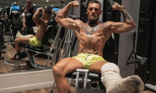 UFC News: Conor McGregor showed training with a broken leg