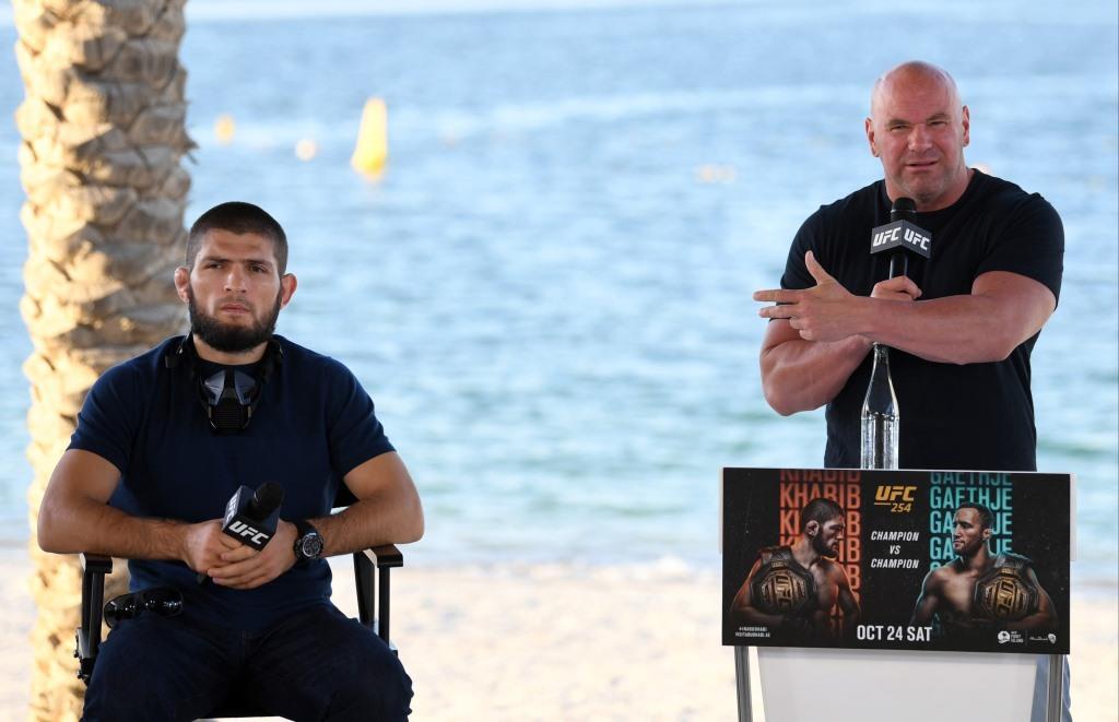"MMA News: Dana White no longer believes in the return of Khabib Nurmagomedov: ""I've given up all hope"""