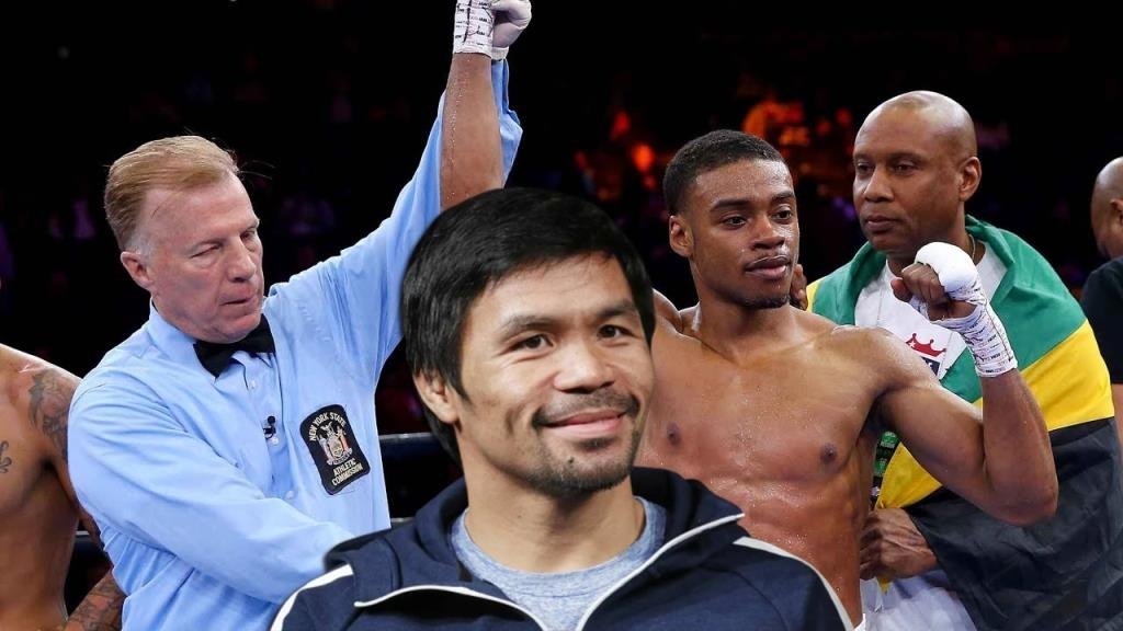 Boxing news Errol Spence warned Manny Pacquiao I am the king of the welterweight