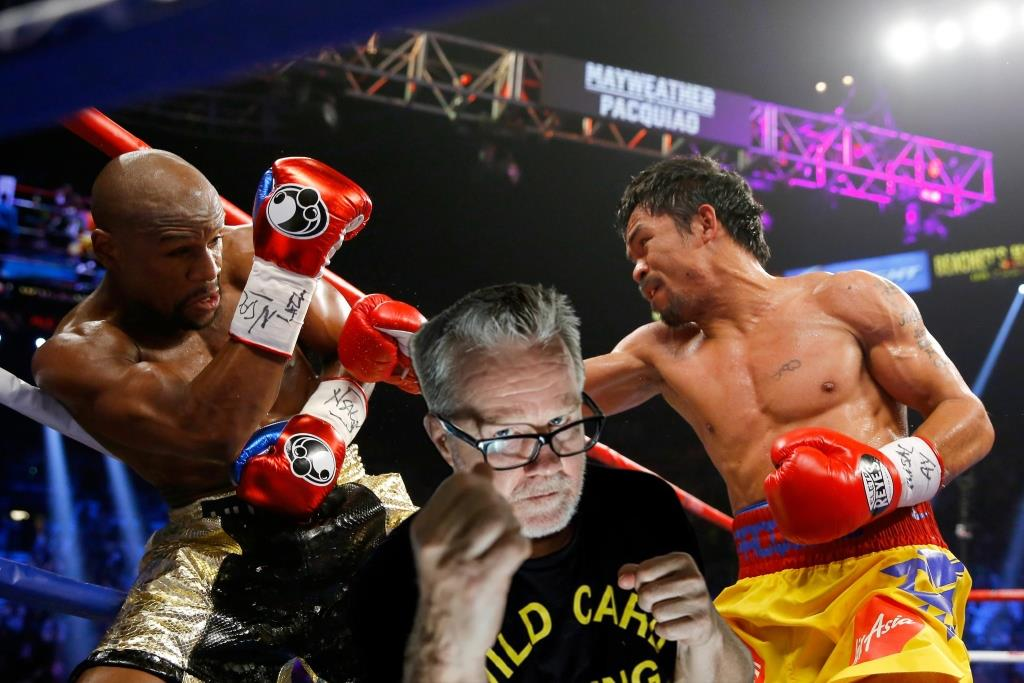 Boxing news Manny Pacquiao's trainer has questioned Floyd Mayweather's record