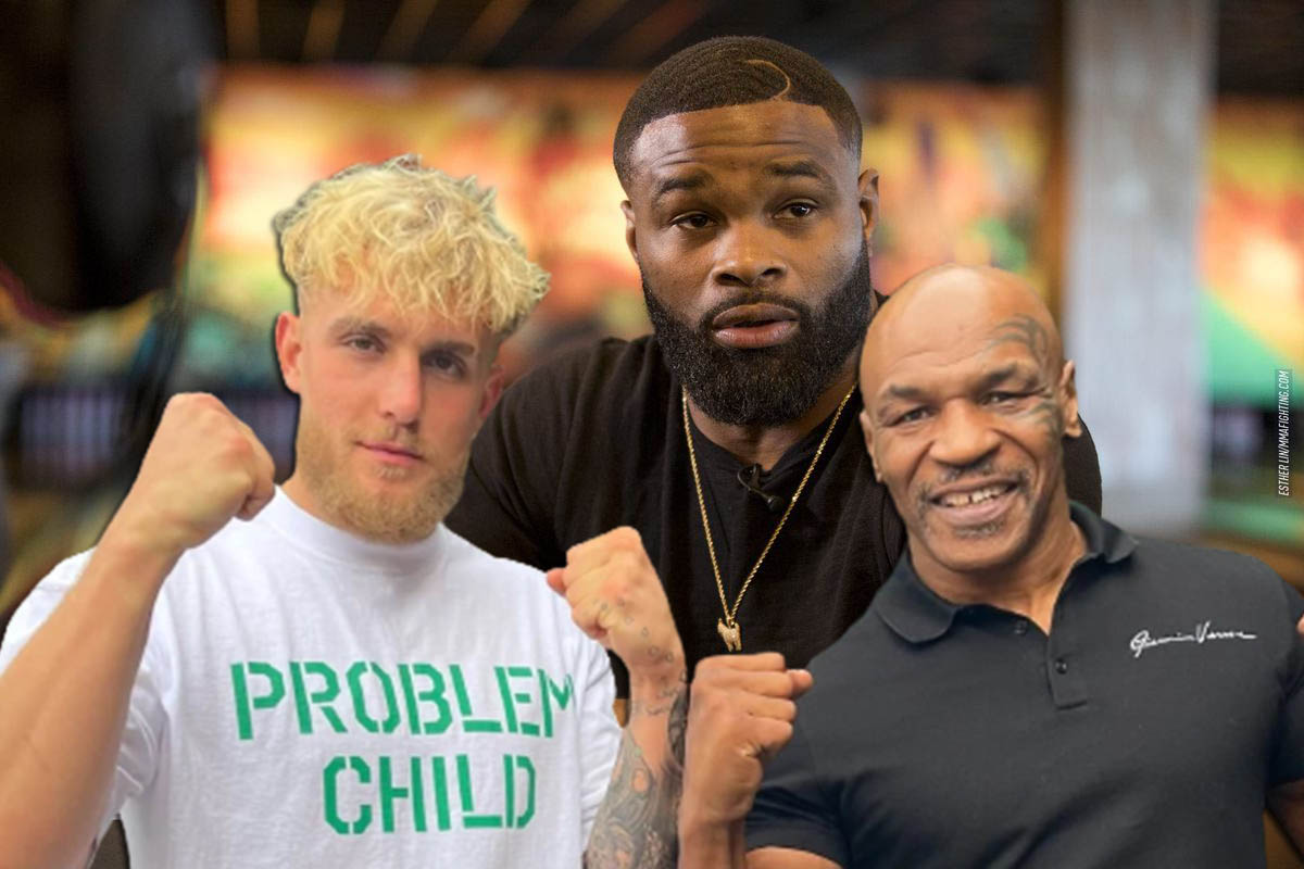 Boxing news Mike Tyson shared a prediction for the fight Tyron Woodley and Jake Paul.