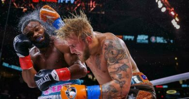 Boxing news Statistics of blows of the fight of Jake Paul and Tyron Woodley