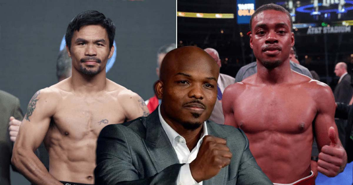Boxing news Tim Bradley told how Errol Spence should box with Manny Pacquiao